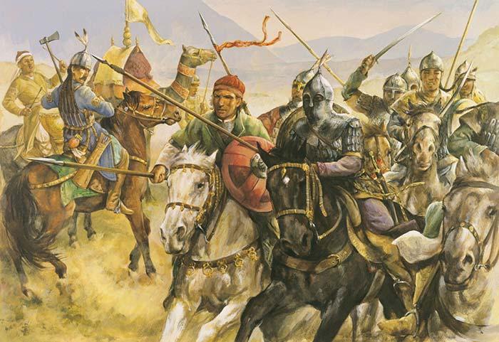 Сельджуки в битве при Дорилее