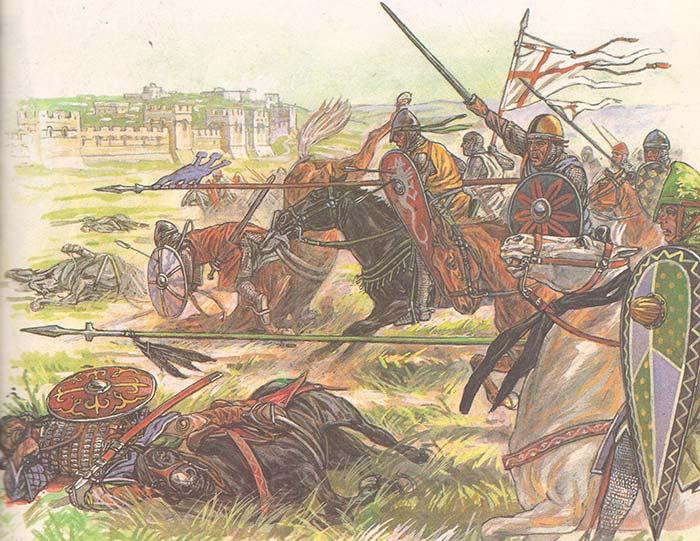 Атака крестоносцев под Антиохией
