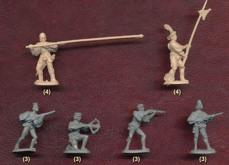 Итальянская пехота первой половины 16 в.
