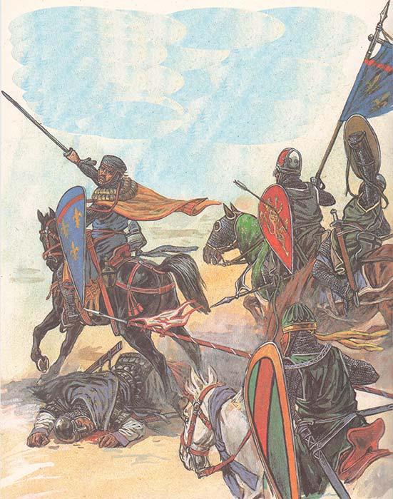 Крестоносцы 4 Крестового похода