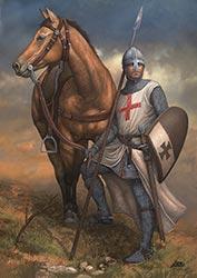 Тамплиер (рыцарь Храма) 12 в.