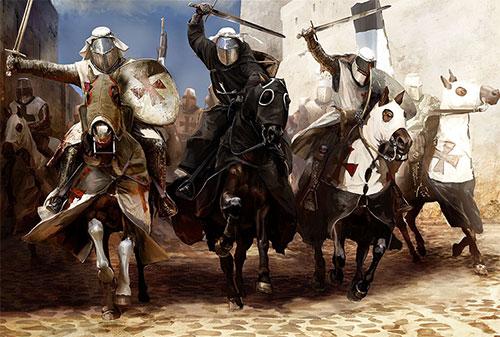 Последняя атака крестоносцев в Акре, 1291 г.