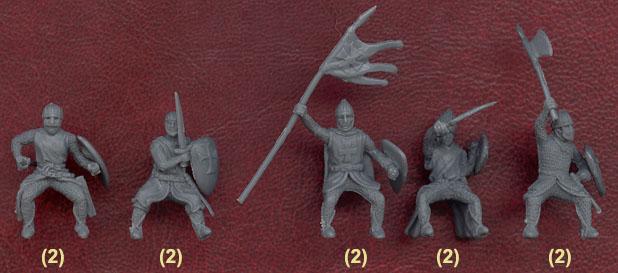 Наборы солдатиков Крестоносцы от Цезаря