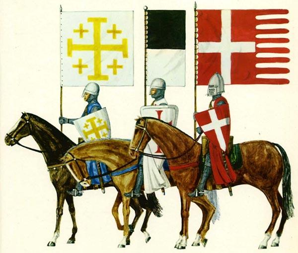 Флаги крестоносцев