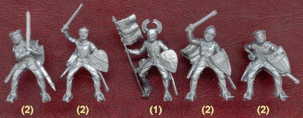 Набор солдатиков Тевтонцы