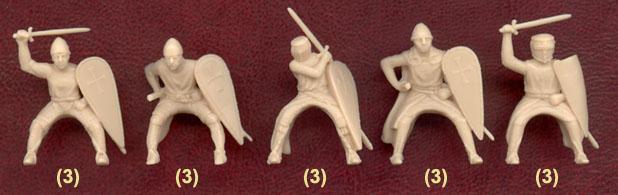 Набор солдатиков Тамплиеры