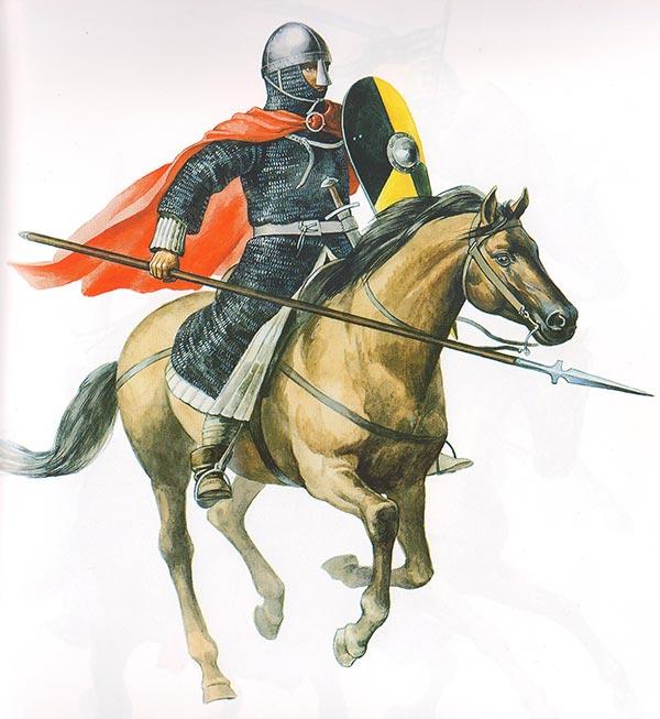 Западно-европейский рыцарь конца 11 начала 12 века