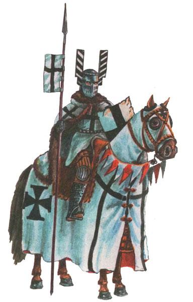Рыцарь тевтонцев первая половина 13 в.
