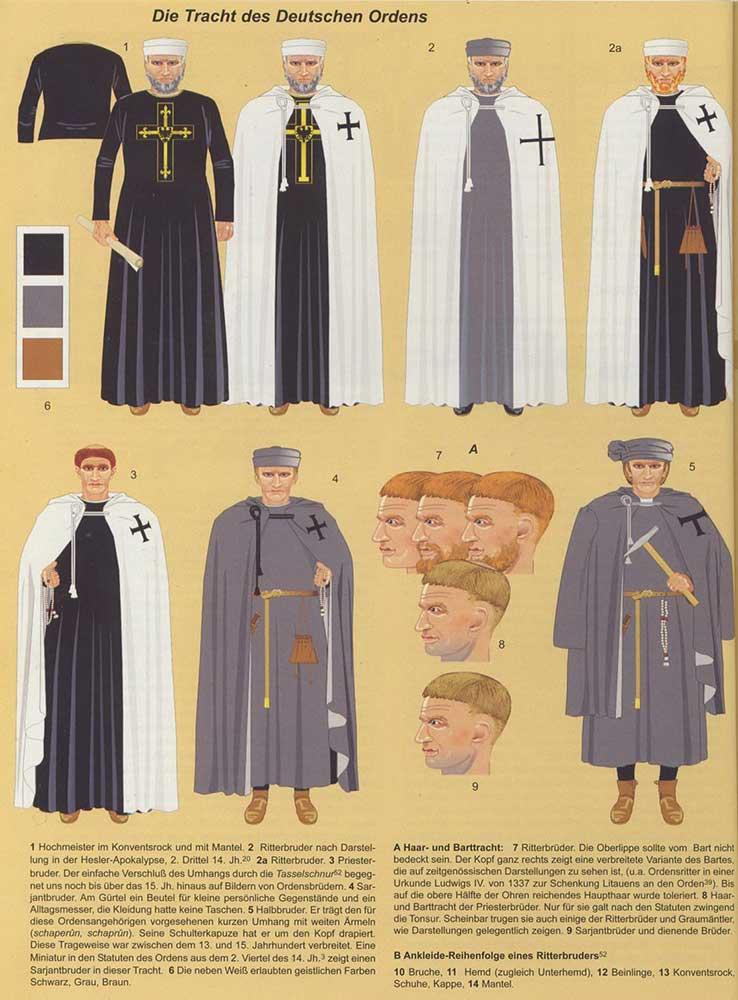 Одежда Тевтонского Ордена