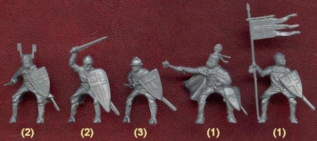 Набор солдатиков Ливонцы