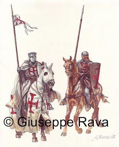 Братья рыцарь и сержант тамплиеров