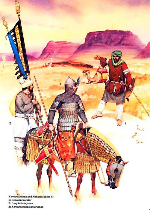 Гулям и бедуин на верблюде