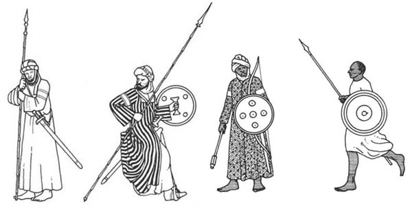 бедуины и суданцы фатимидов