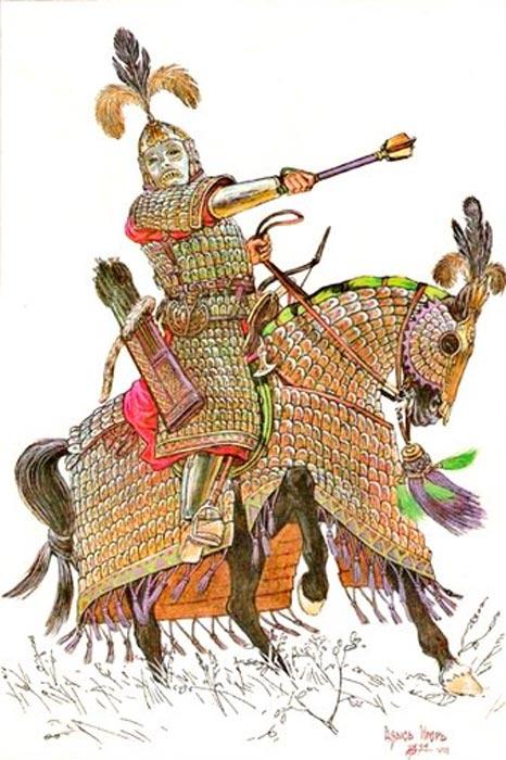 Монгольский полководец