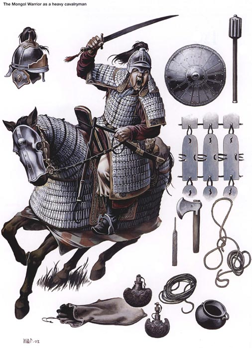 Монгольский тяжелый всадник